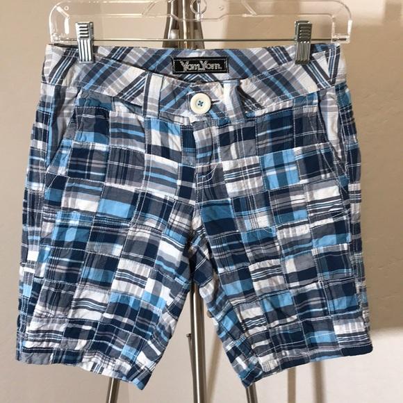 Yom Yom Pants - Yom Yom Junior Patchwork Bermuda Shorts